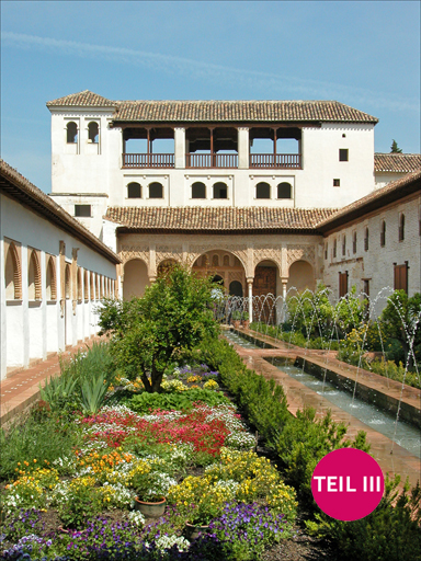 Granada, Palacio de Generalife, Patio de la Acequia, Foto: Jean-Pierre Dalbéra, Creative Commons Attribution 2.0 Generic (CC BY 2.0)